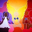 ANGEL BABIES by CustomCanvasART