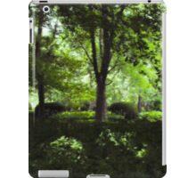 Summer Day Forest Scene iPad Case/Skin