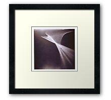 C-Curve Holga Framed Print
