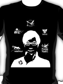 Hideo Kojima Metal Gear - Black T-Shirt