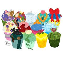 The Princess Cupcake Collection II  by Chantelle Janse van Rensburg