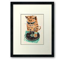 Scratch Master Kitty Cat Framed Print