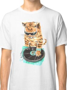 Scratch Master Kitty Cat Classic T-Shirt