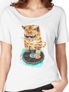 Scratch Master Kitty Cat Women's Relaxed Fit T-Shirt