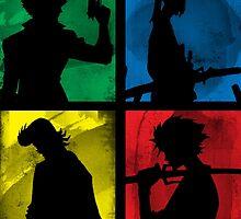 Watanabe's Classic Main Characters by ProdigyJin