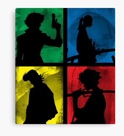 Watanabe's Classic Main Characters Canvas Print