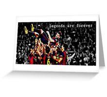 Leo Messi Greeting Card
