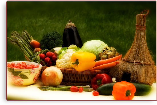 Lovely Veggies by Trudy Wilkerson