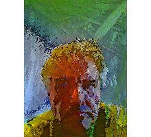Generative Selfie Self-Portrait Photographic Print