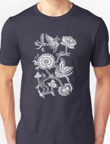 Chinese Bird & Flowers T-Shirt