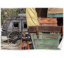 Westward Wagons Poster