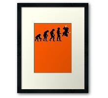 Evolution X Framed Print