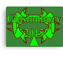 Glasto15...MYT - (Meet-You-There) new T (z) for 2015  Canvas Print