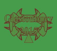 Glasto15...MYT - (Meet-You-There) new T (z) for 2015  by CARIDIGM