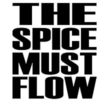 The Spice Must Flow Photographic Print