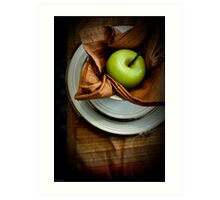The Placesetting Art Print