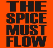The Spice Must Flow Kids Tee