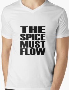 The Spice Must Flow Mens V-Neck T-Shirt