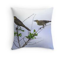 HIGH WIRE ACT Throw Pillow
