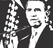 262 Obama 3 Sticker