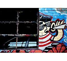 graffiti around Melbourne Photographic Print