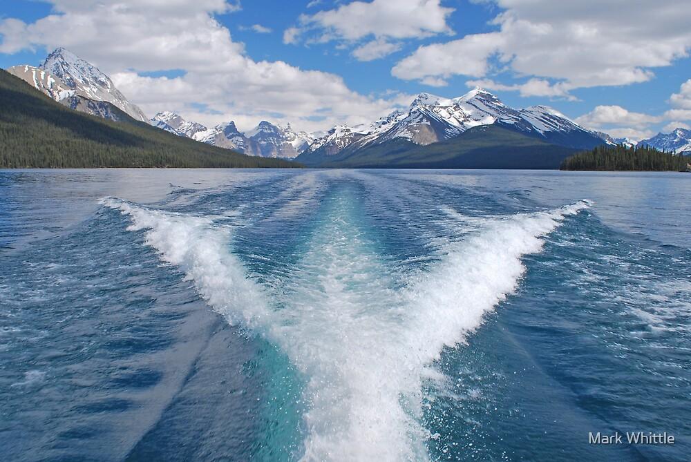 Maligne Lake, Canadian Rockies by Mark Whittle