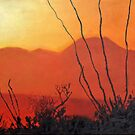 Sonoran Sundown by James Lindsay