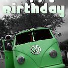 Volkswagen Kombi Happy Birthday by KombiNation