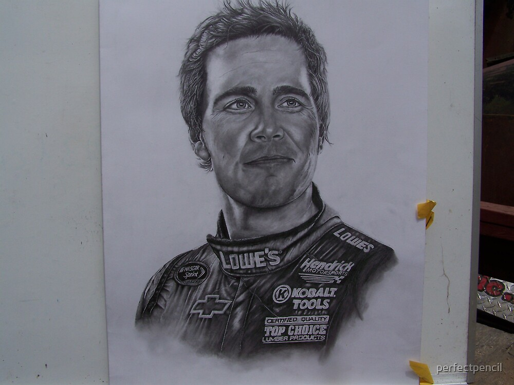 Jimmy Johnson full bust with sponsor  jacket/suit by perfectpencil
