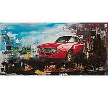 1970 Alfa Romeo GTA Photographic Print