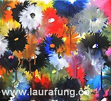 Watered Flors by Laura - Anne Fung