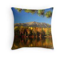 Autumn Baxter Mt. Katahdin Throw Pillow