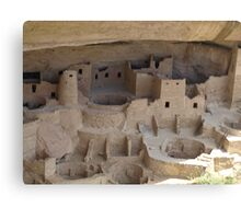 Cliff Palace Cliff Dwelling Canvas Print