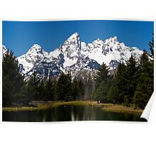 "Midday ""Grand"" View - Teton National Park Poster"