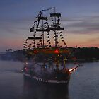 Invading Pirates by David Lee Thompson
