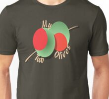 MY TWO OLIVES Unisex T-Shirt