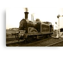 CR 419 Engine (Sepia) Canvas Print