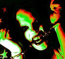 Zombie Girl by Josh  Dent