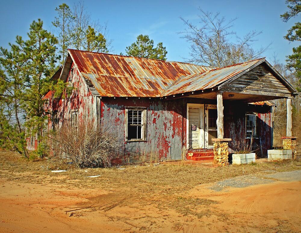 Old Abandoned Motel by Linda Yates