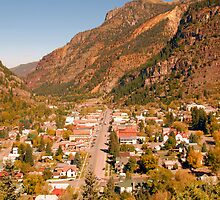 Ouray Colorado by David Lee Thompson