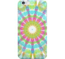 Sponge Painting Look in a Kaleidoscope iPhone Case/Skin