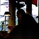 dalai lama. india, 2005 by tim buckley | bodhiimages