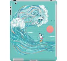 surfing zebra iPad Case/Skin