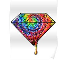 Dripping Diamond Poster