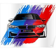 The BMW M4 Series Poster