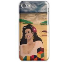 Geometric bust of a Cuban mother  iPhone Case/Skin