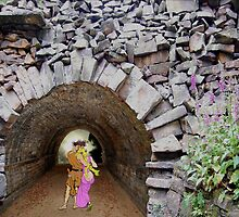 Ancient Tunnel of Love. by albutross