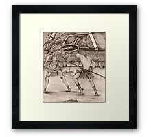 Blood Sports # 1 Framed Print