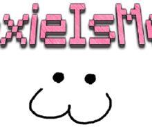 """""""LexieIsMeh"""" Shirt w/ Cat Face :3 Sticker"""