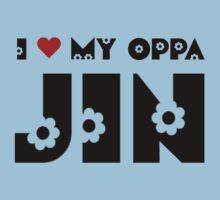 I HEART MY OPPA JIN - BLUE Kids Clothes